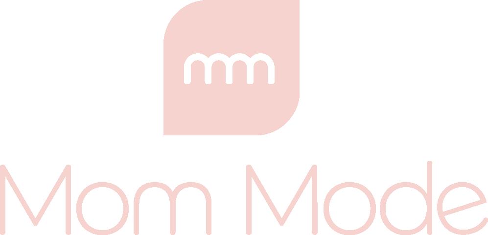 mom mode pink see through logo