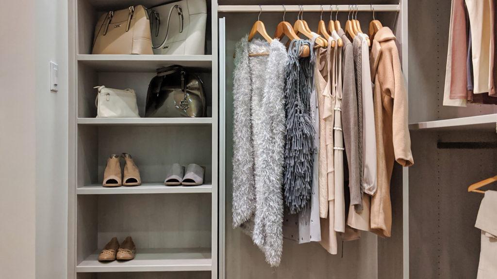 nest and tidy closet